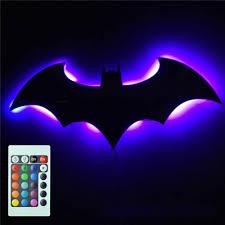 3d Led Night Light Decorative Lamp Usb Bat Iluminaria