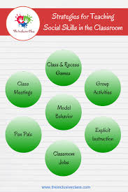 ways to teach social skills in your classroom