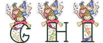 Moldes De Letras Feliz Cumpleaños Para Imprimir Frases E