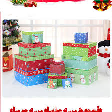 Decorative Display Boxes DWCS100 Lovely Large Christmas Gift Boxes And The Christmas Tree 97