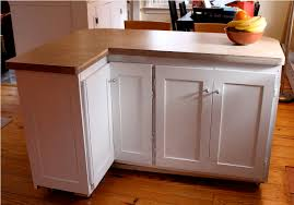 image of l shapes rolling kitchen island ikea