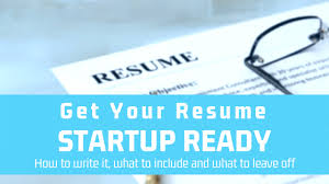 Get Your Resume Startup Ready Office Hours Medium