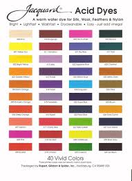 Idye Poly Color Mixing Chart Vermillion 611 Jacquard Acid Dye For Wool Silk Feathers Nylon Any Protein Animal Fiber Add Vinegar And Heat To Powder