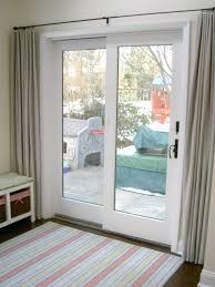 elegant sliding glass door curtains inside curtain options for doors best 25 ideas 11
