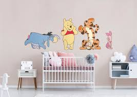 winnie the pooh collection x large officially licensed disney removable wall decals fathead