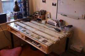 desk itself building diy office euro pallet ideas build office desk