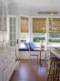 this bay kitchen window lights up the room