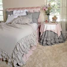linen ruffle duvet cover 890 00 check it out