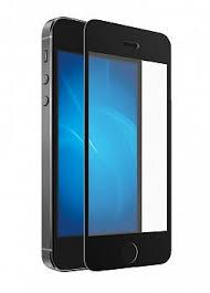 Купить <b>Защитное стекло DF</b> iPhone 5/5S/SE DF iColor-02 черный ...