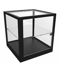 glass display case. CTC 600 Counter Top Cube Display Case Glass