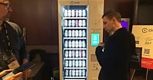 Source Code For Vending Machine In C Delectable Cryptobeer Vending Machine Promises Blockchainenabled Benders