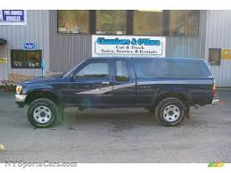 1993 Toyota Pickup Deluxe V6 Extended Cab 4x4 in Blue Pearl ...