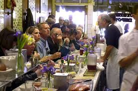 busy restaurant scene. The Dozen And A Half Stools At Swan Oyster Depot Make For Busy Scene Restaurant R
