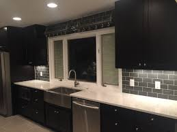 Customer Review of Black Cabinets - Looking Great!