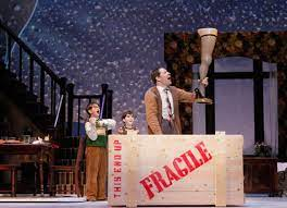 The scenery and props were great too. Review A Christmas Story The Musical Seattle Met
