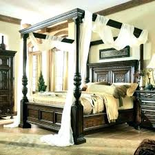 Twin Wood Canopy Bed White Wooden Canopy Beds Wood Canopy Bed Twin ...