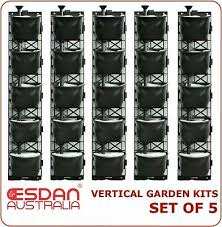 vertical garden kit wall hanging