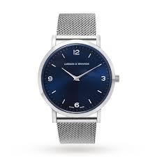 larsson jennings unisex lugano 38mm mesh watch mens watches larsson jennings unisex lugano 38mm mesh watch