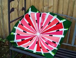 Attic Window Quilt Shop: WATERMELON IS GREAT FOR SUMMER & However, I noticed that the watermelon quilt was not included in those  patterns she wrote about. So I wrote and told her that I loved her patterns  but would ... Adamdwight.com