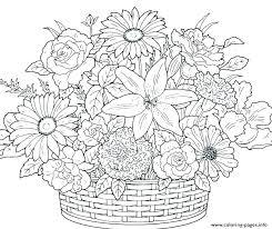 Floral Coloring Sheets Dexyarya
