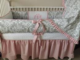pink and gray elephant crib bedding sets clearance boy modern baby grey c mint woodland arrow piece set canada