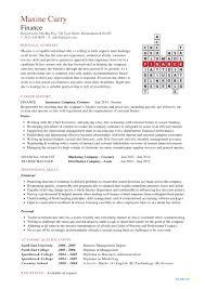 Resume Format For Finance Jobs Best Resume Format For Finance Jobs