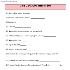 Daycare Form Delectable Child Care Provider Tax Form For Parents Luxury Proof Of Letter