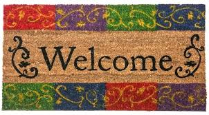 outdoor welcome mats long front door mat personalized entry door mats extra large outdoor welcome mats