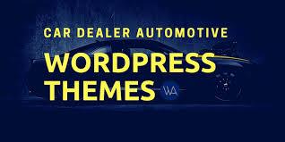 Best Car Dealer Automotive Wordpress Themes 2019 Wparena