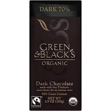 green black s organic dark chocolate 70 cacao 3 5 ounce bars pack