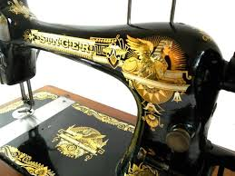 Singer Sewing Machine With Sphinx Design