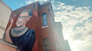 This 'new' key is not recognized by the rbg individual customization tab, and can only be lit through aura sync basic effects. New Two Story Mural Of Ruth Bader Ginsburg Unveiled In Dc Thehill