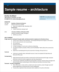 Interior Design Draftsman Resume