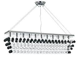 full size of swarovski linear crystal chandelier black from the bedazzle collection home improvement glamorous modern