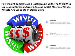 Download attention word templates designs today. Template With Word Win On Several Circular Arrows Around A Slot Machine Whose Wheels Are Lined Up In Dollar Signs Presentation Graphics Presentation Powerpoint Example Slide Templates