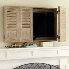 Making A Wall Cabinet Shutter Tv Wall Cabinet Hide Tv Cabinets And Design