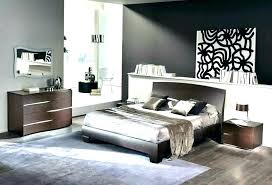 White Modern Bedroom Furniture Set Lacquer Large Size Of Bedding ...