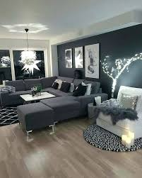 black and white decor living room glamorous gray wall decor ideas interesting living room grey neutral dark letter u sofa black black and white wall decor