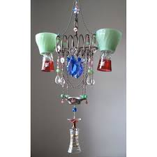 chandelier glass cup small duet tea replacement cups
