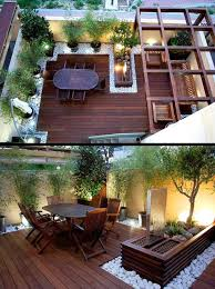 Decking Designs For Small Gardens Classy Small House Backyard Ideas Wonderful Interior Design For Home
