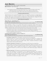 Human Resources Resume Free Templates Human Resource Resume Template