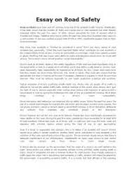 develop road safety culture essay develop road safety culture