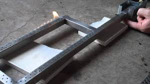propane burner with venturi