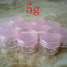 2019 whole 5g pink color round small plastic bottle jars containers with lids for cosmetic packaging cream jar from adeir 35 22 dhgate com