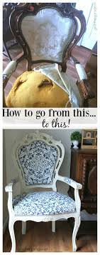 The Throne Chair - DIY Reupholstered Chair Makeover - And Being ...