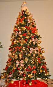 ... Red And Gold Decorated Christmas Tree Ideas Interior Decorating Ideas  Best Best With Red And Gold ...