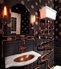 Steampunk Inspired Interior Design Steampunk Inspired Bathroom Decor Design Steampunk Home