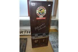 Vintage Cigarette Vending Machines For Sale Uk Stunning A WOODEN 'PLAYERS NAVY CUT' CIGARETTE VENDING MACHINE Missing Keys