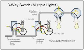 three way switch wiring diagrams multiple lights wiring diagram wiring a 3 way switch