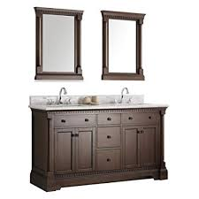 Traditional double sink bathroom vanities 72 Inch Image Unavailable Amazoncom Fresca Bath Fvn2260ac Fresca Kingston 60